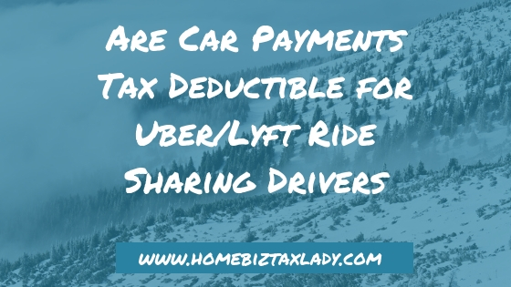 tax benefits for lyft drivers
