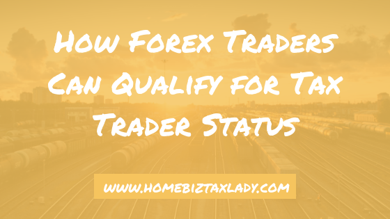 How to file taxes as a forex trader