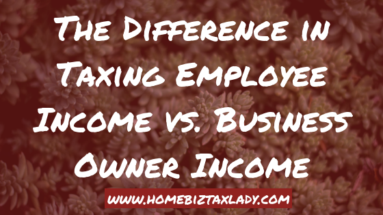 The Difference in Taxing Employee Income vs. Business Owner Income