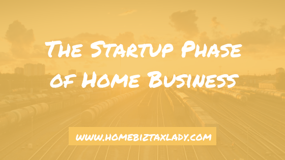The Startup Phase of Home Business